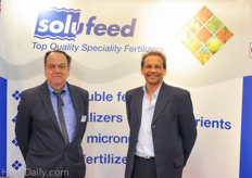 Jerry Wright and Mike Nettleton from Solufeed.