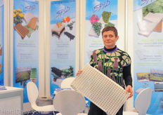 Sandrine Quenea of SPID. Read more about their propagation trays in this article : www.hortidaily.com/article/12492/Tray-manufacturer-innovates-coherent-to-the-market