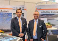 Ton Versteeg and Lodewijk Wardenburg of BOM Group.