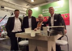 Arnold Bol, Irina Stegeman, Marc Staring of Meteor Systems and a client