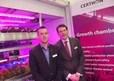 John Lagerwerf and Marc Vijverberg of Certhon. Certhon has a lot of business in Russia.