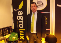 """Roland Sjardijn of Agrolux is this year ""the man of the IPM Trade Fair picture at Hortidaily and Groentennieuws""."""