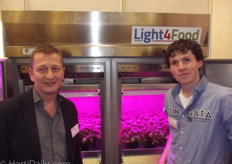 René van Haeff and Niels Jacobs of Light 4 Food
