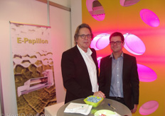 Ton ten Haaf (Lights Interaction Agro) and Brian Lunde Hansen (Lindpro)