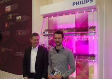 Udo van Slooten and Bas Campfens of Philips