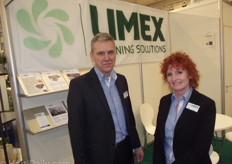Jan ten Hoef and Gertie Rongen of Limex
