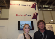 Richella van Dorssen and Marcel Schulte of HollandScherming and HollandGaas