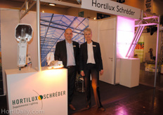 Paul van der Valk and Hilde Lonsain, Hortilux Schreder