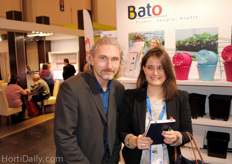 Arlette, Groentennieuws, together with Roman Kolbl, AgroTech: the chief of strange humor.