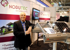 At Nobutec a lot of attention for the greenhouses and the solar projectw
