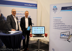 Martijn van Mil and Jan Peters told about the new application from Alfa Pro, making it possible to directly update your webshop while selling on the route.
