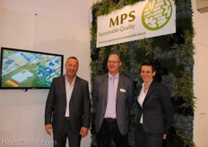 MPS Sustainable Quality: Gerrit-Jan Vreugdenhil, Donald Westerbeek and Kitty de Bruyn, Fair Flowers Fair Plants