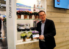Tjerk van der Schaaf, Chrysal International, showing the reduction of failing plants thanks to the AquaPad