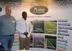 Mivena: Duco van der Veen and their reseller Joshua CO Ochiel