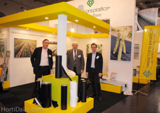 Dieter Kaspar, Hans van Dongen and Erik Marell, Oerlemans Plastics. Photo taken on friday afternoon since the booth was too crowded on the days before!