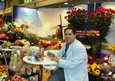 Rick Morales, TC Floral. They focus on providing mass merchandisers with seasonal and yearround products.