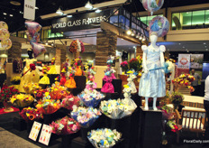 A lot to see at World Class Flowers! A home match for the company, which is based in Miami (and in Egg Harbor City, NJ). On the IFTF they will also show their floral products, focussed on the supermarket and mass market.