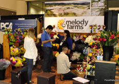The colour explosion of Melody Farms, by Vegaflor Group, gained a lot of attention.