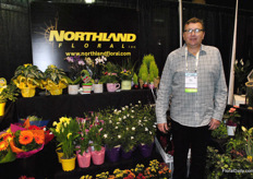 Mike Schilstra of Northland Floral.