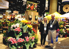 Jeanne Watson and Michael Hall, Bay Citi Flower Company
