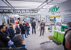Arjen van Leest of Jiffy explained the use of coir propagation and growing media.