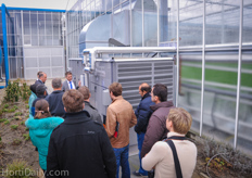 Also the Semi closed greenhouse and the new way of growing (The New Cultivation) was discussed.