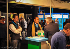 Egyptian growers Said Badr El Kady and Mahmoud Riad got well informed at the show.